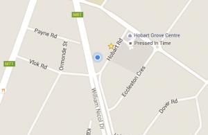 Hobart Road Apartment, Google Maps